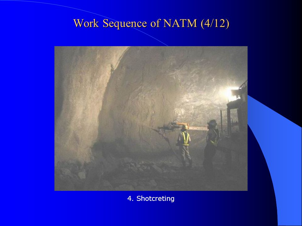 Work Sequence of NATM (4/12)