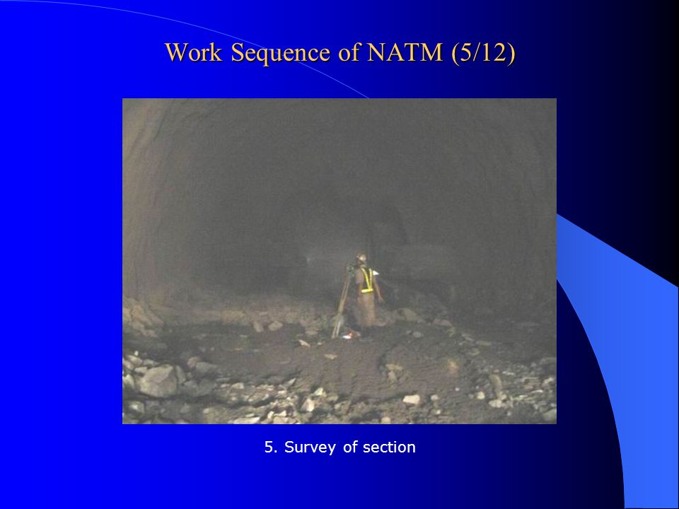 Work Sequence of NATM (5/12)