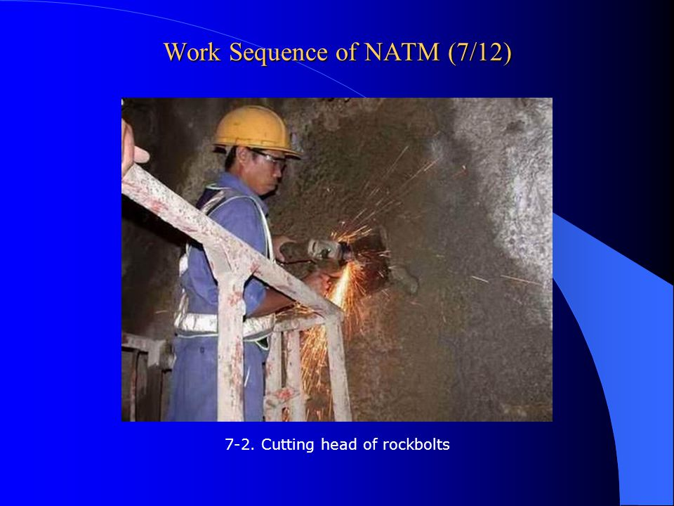 Work Sequence of NATM (7/12)