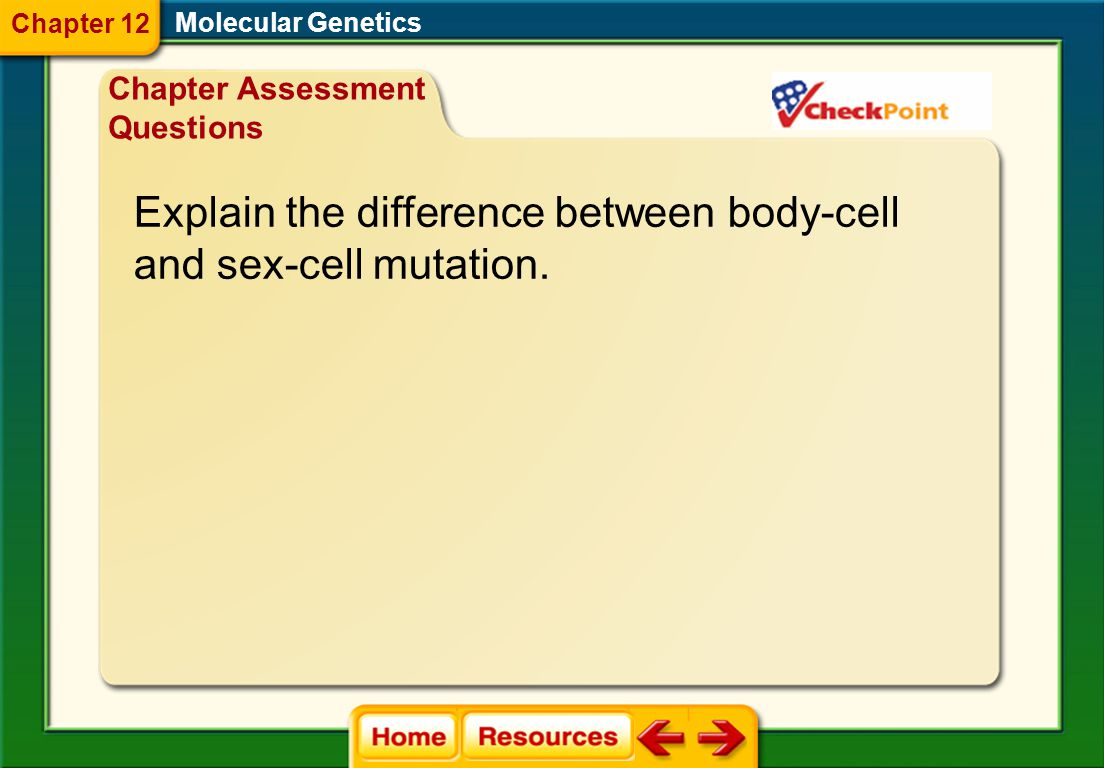 Explain the difference between body-cell and sex-cell mutation.