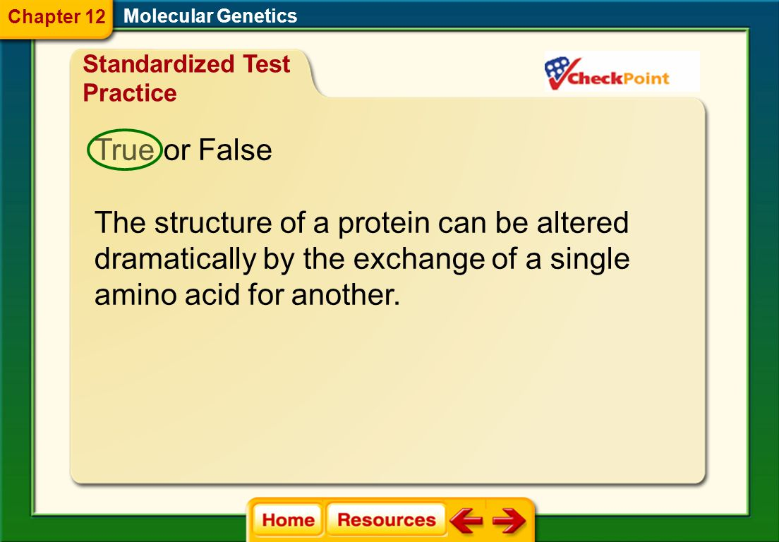 The structure of a protein can be altered