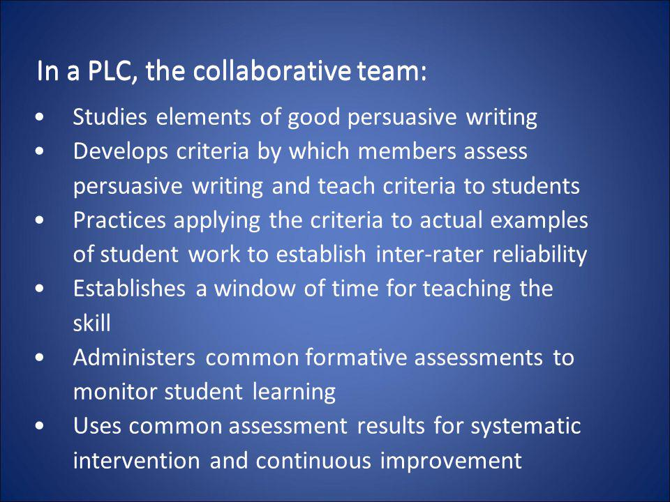elements of effective teams essay This essays aims to explain the features of an effective team performance effective teams want team success: if you are the original writer of this essay and no longer wish to have the essay published on the uk essays website then please click on the link below to request removal.