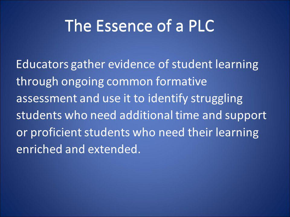 The Essence of a PLC