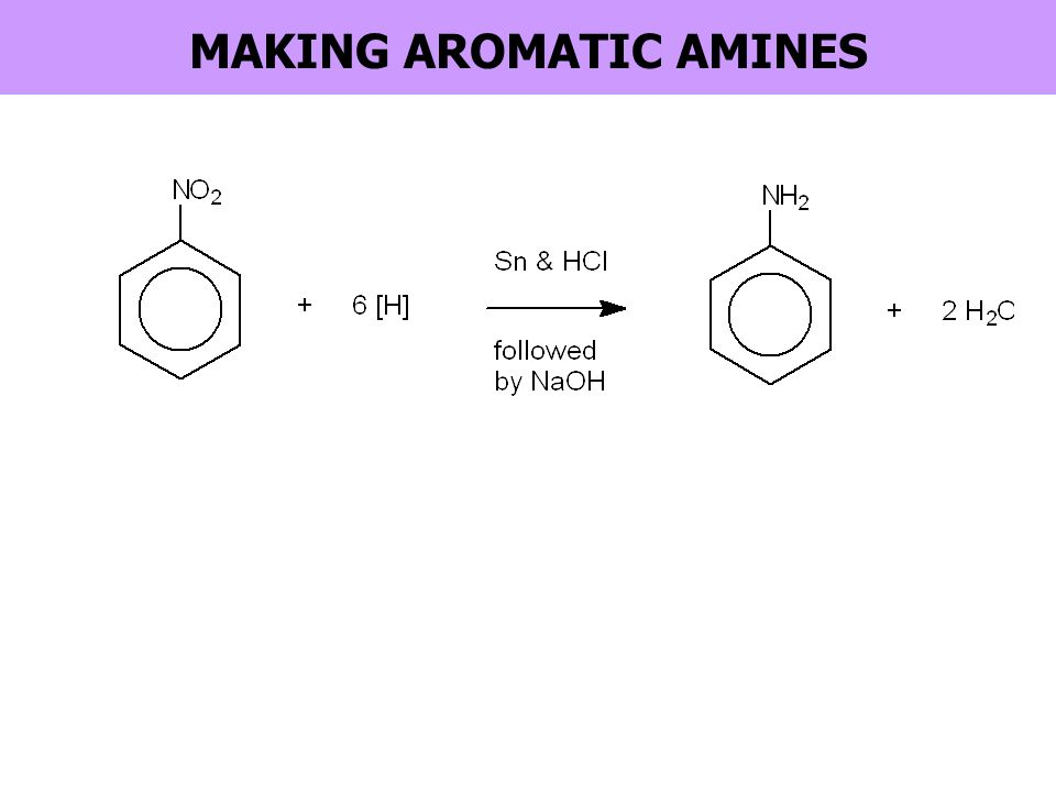 MAKING AROMATIC AMINES