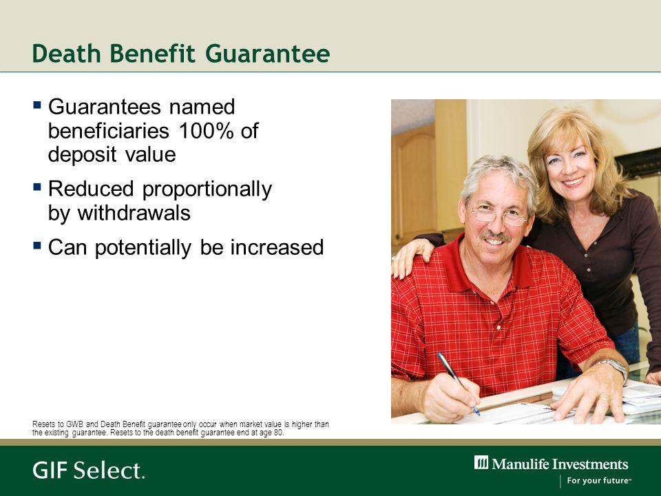 Death Benefit Guarantee