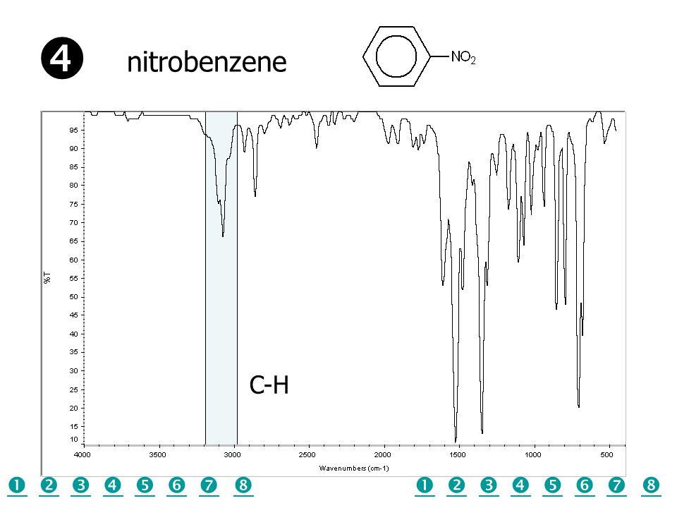  nitrobenzene C-H                