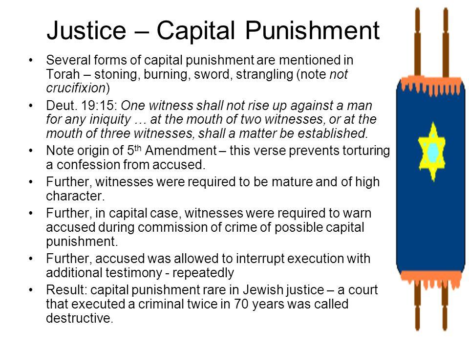 Justice – Capital Punishment