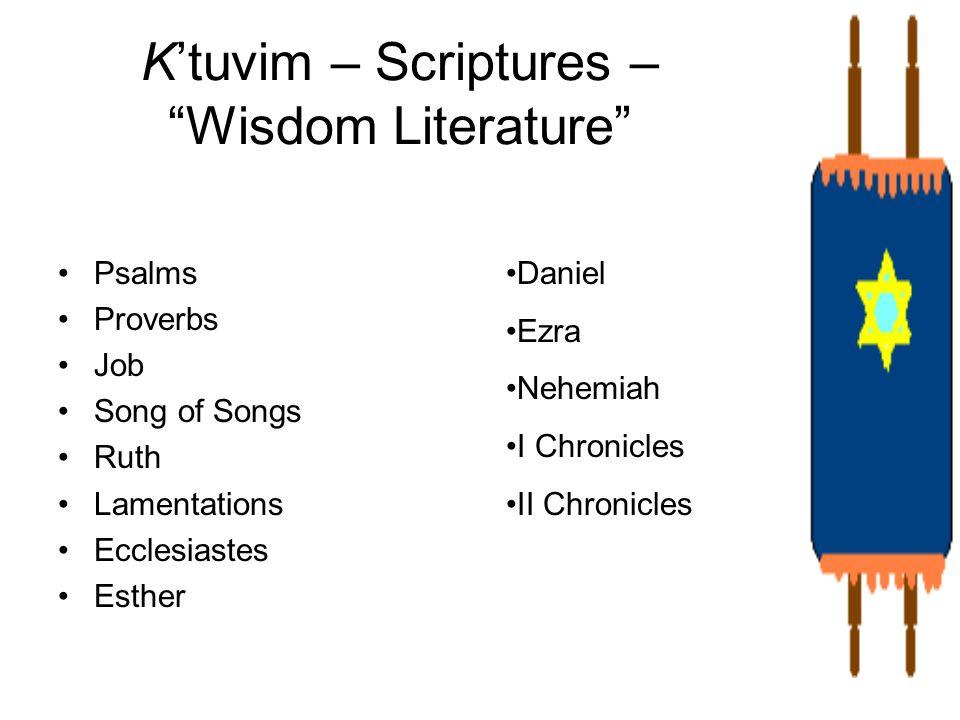 K'tuvim – Scriptures – Wisdom Literature