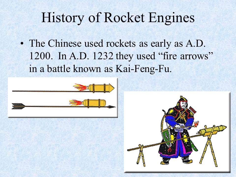 History of Rocket Engines