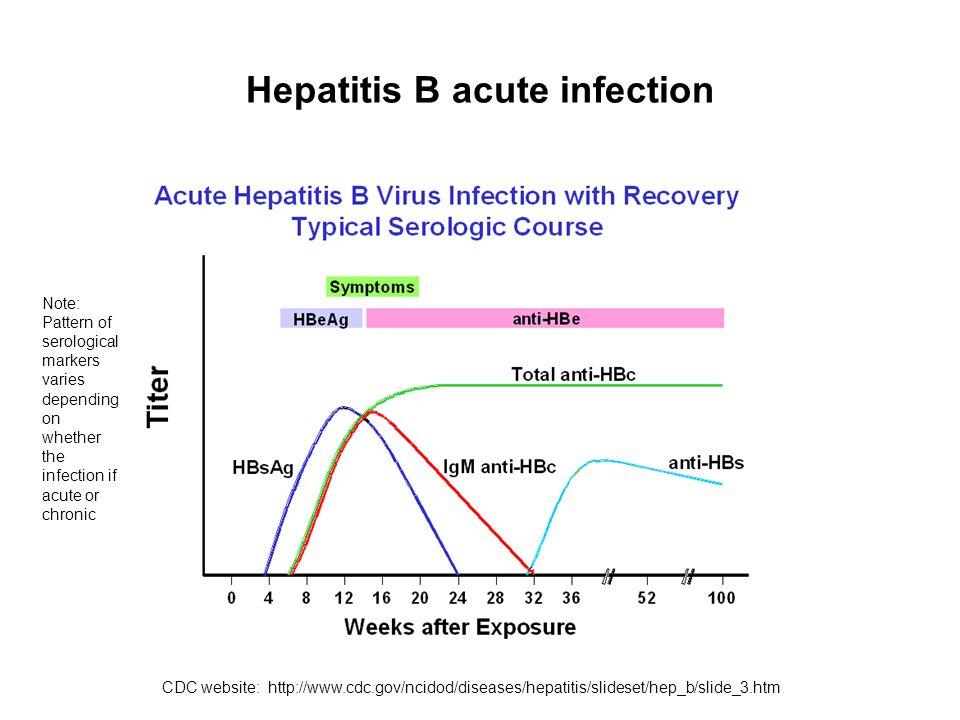 Hepatitis B acute infection
