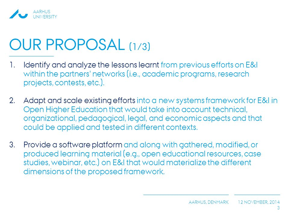 Our Proposal (1/3)