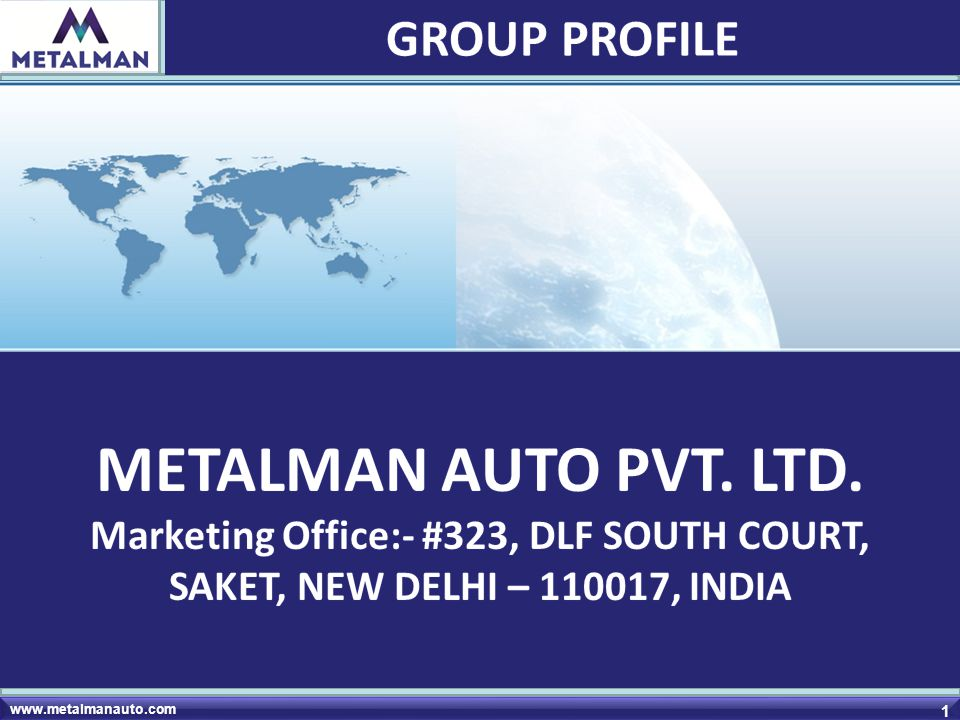 Marketing Office:- #323, DLF SOUTH COURT,