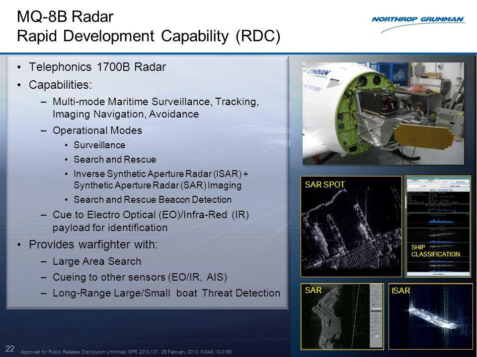 MQ-8B Radar Rapid Development Capability (RDC)