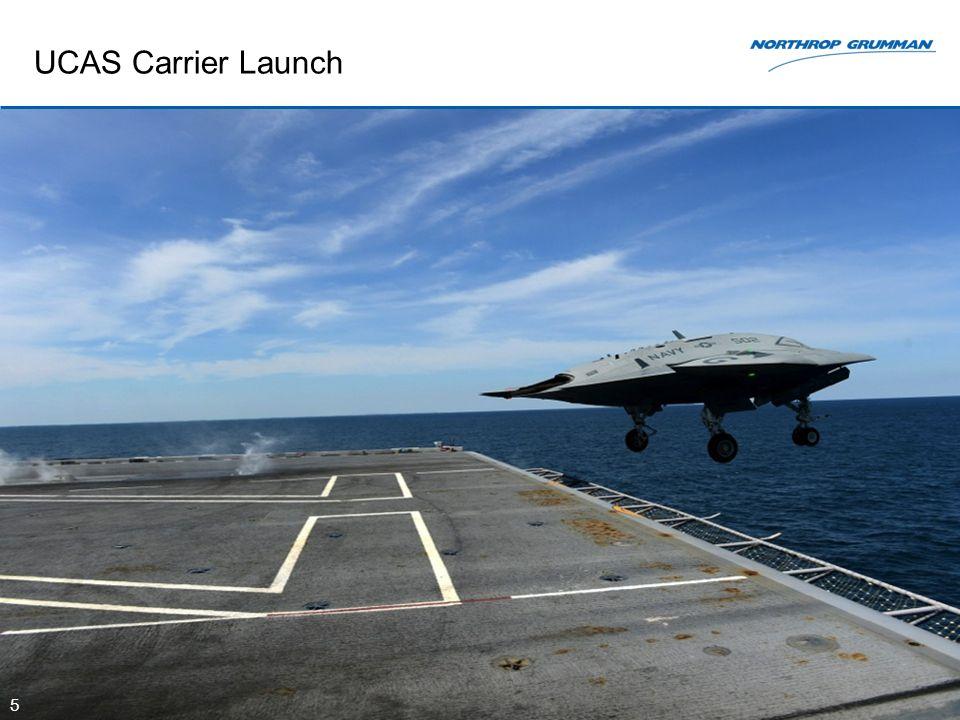 UCAS Carrier Launch 5