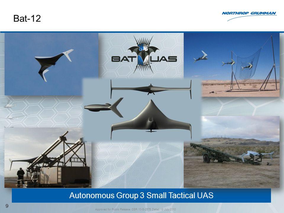 Bat-12 Autonomous Group 3 Small Tactical UAS