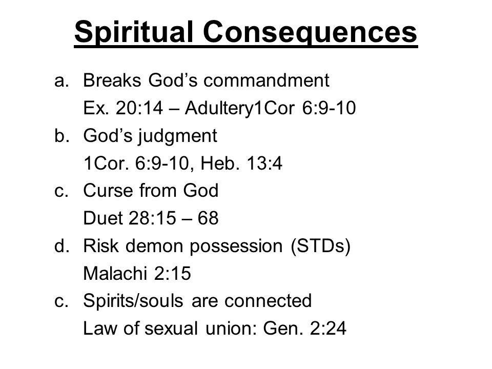 Spiritual Consequences