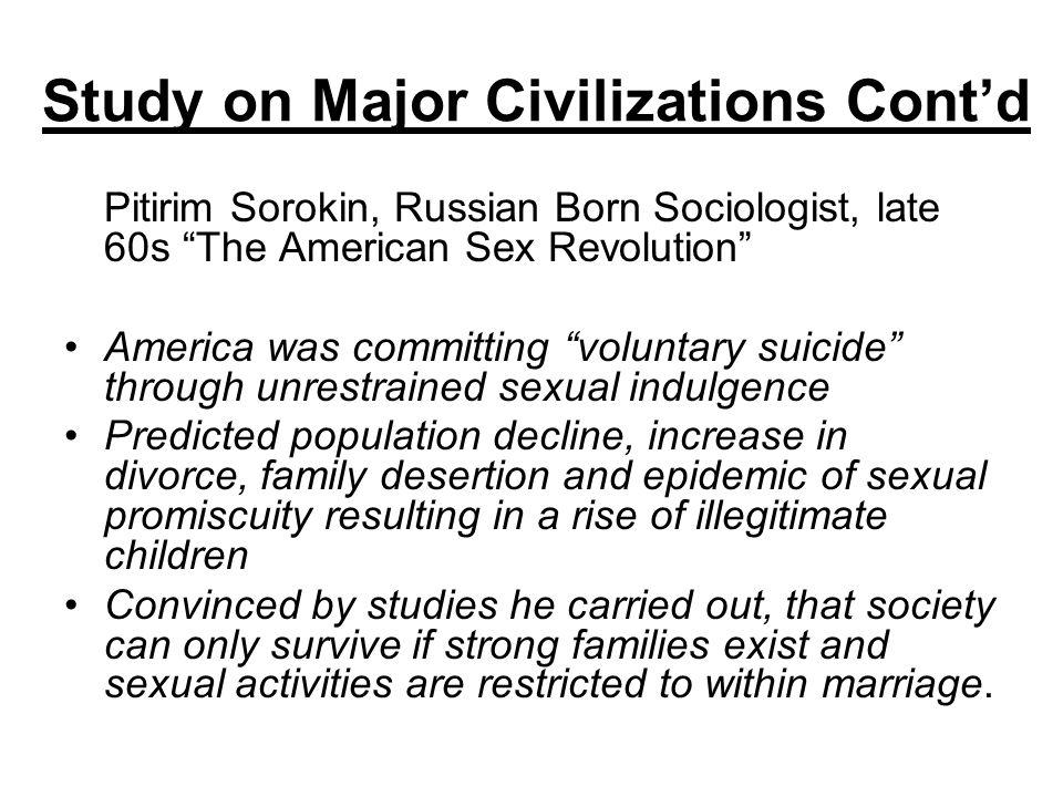 Study on Major Civilizations Cont'd