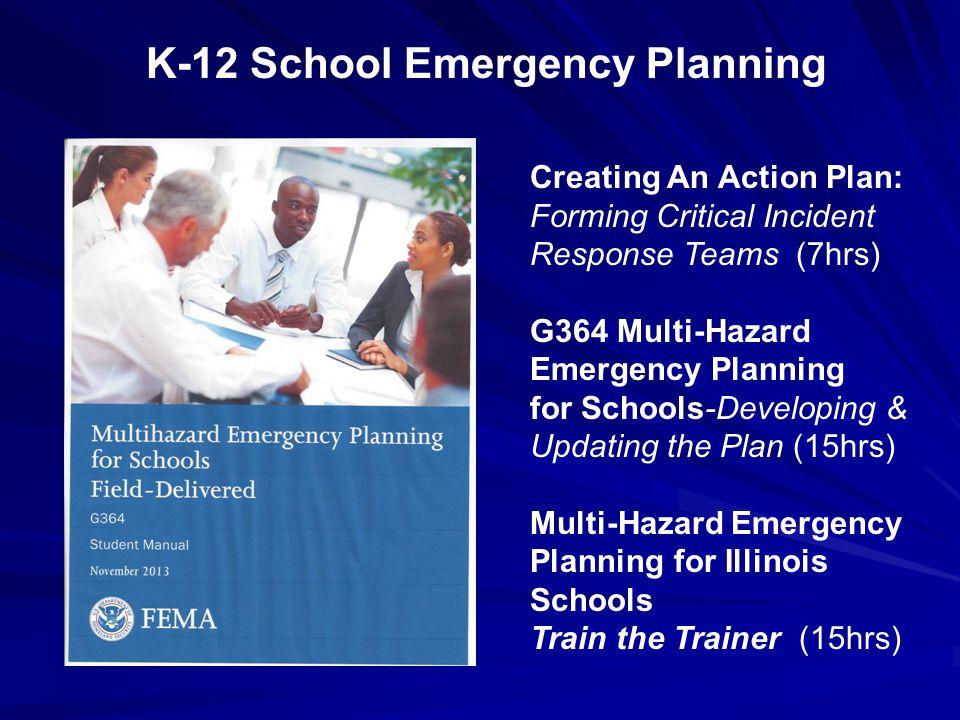 K-12 School Emergency Planning