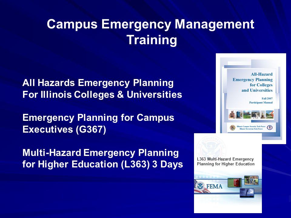 Campus Emergency Management