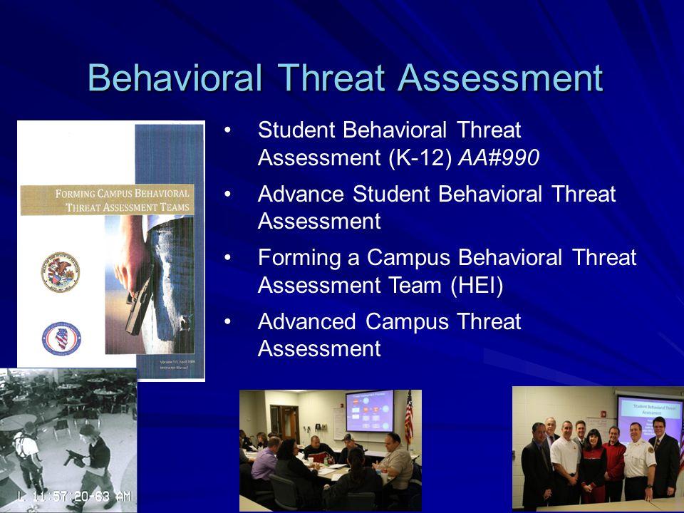 Behavioral Threat Assessment