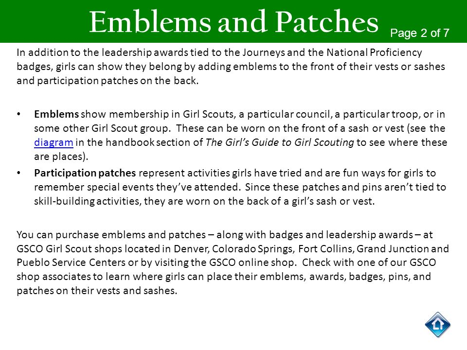 Emblems and Patches Page 2 of 7
