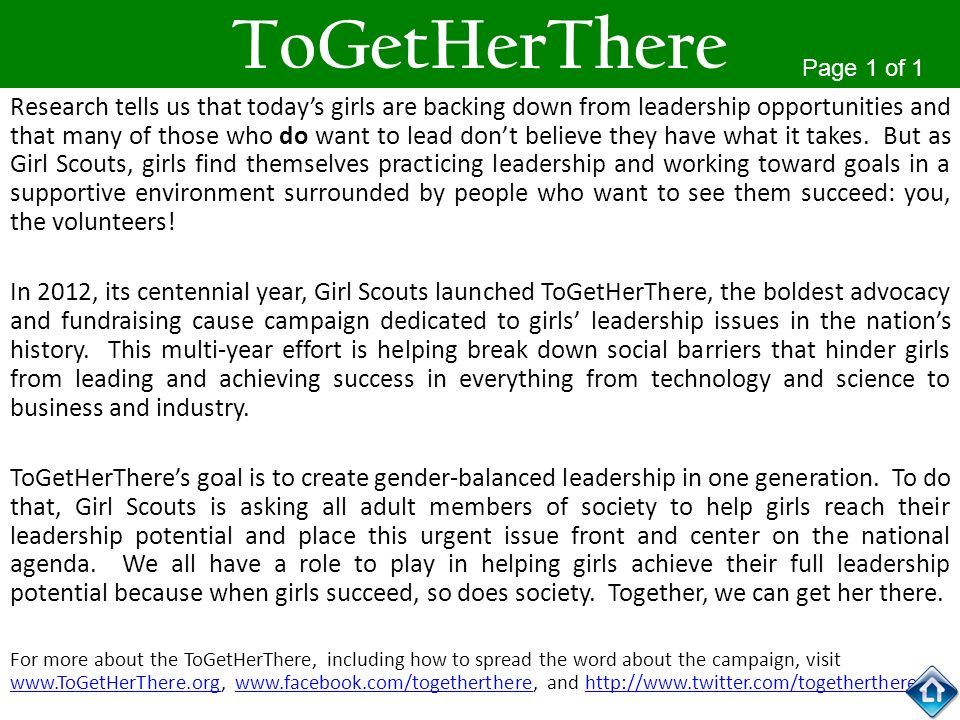 ToGetHerTherePage 1 of 1.
