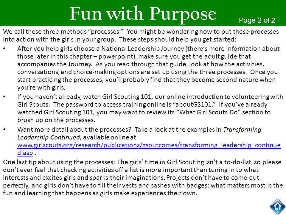 Fun with Purpose Page 2 of 2
