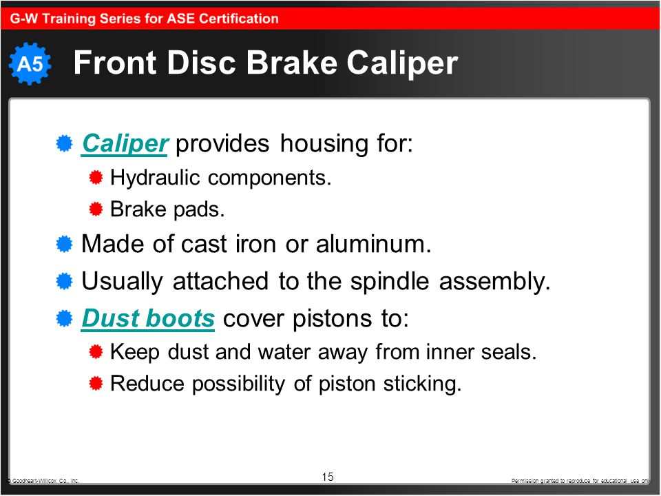Front Disc Brake Caliper