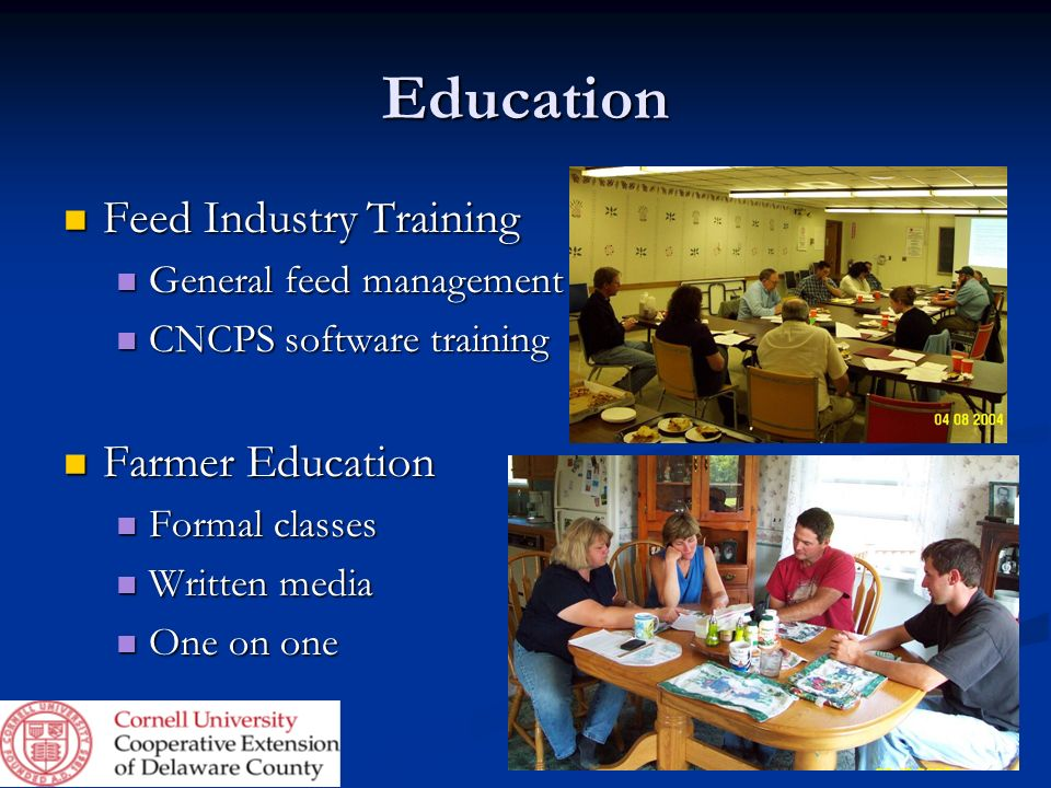 Education Feed Industry Training Farmer Education