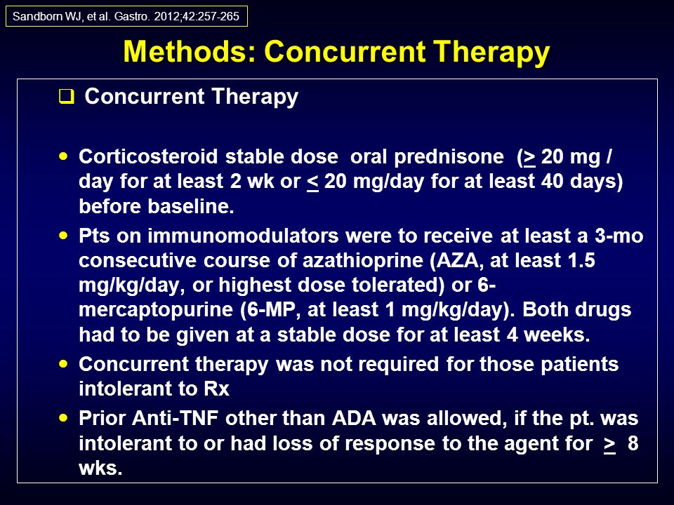 Methods: Concurrent Therapy