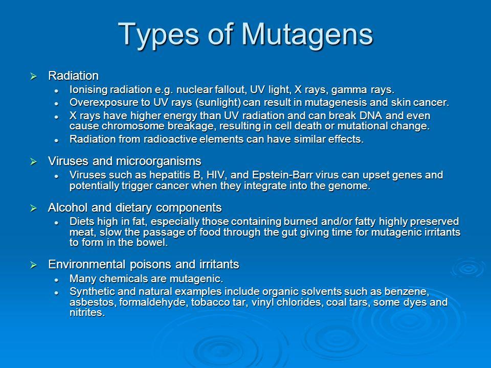 environmental mutagens - photo #33