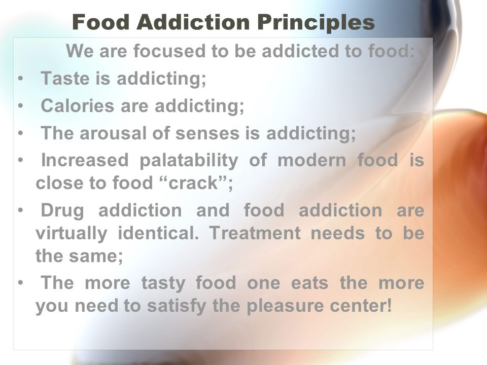 Food Addiction Principles