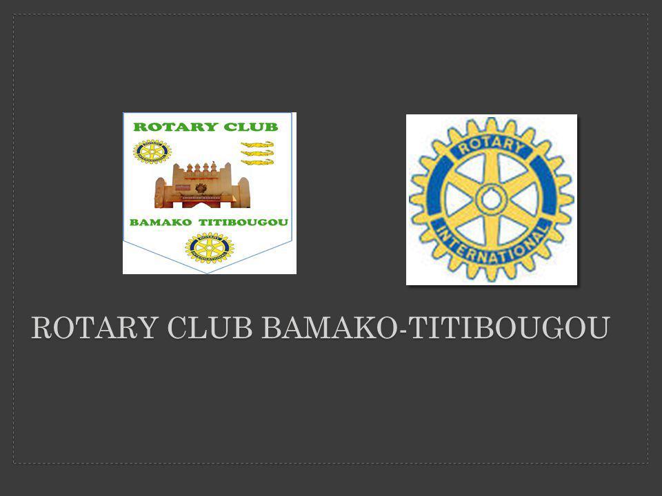 Rotary club Bamako-titibougou