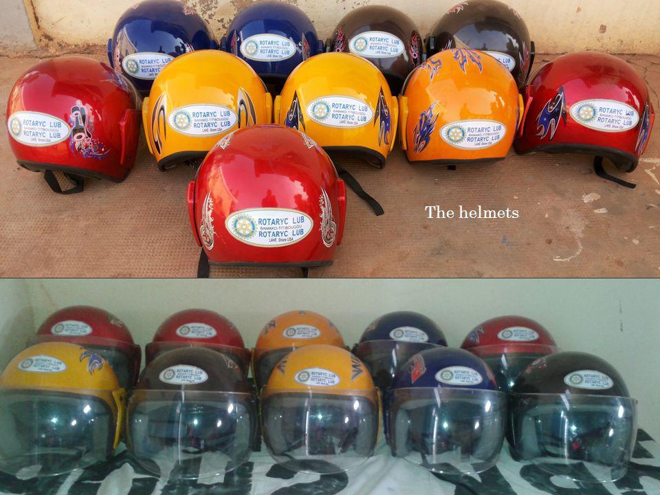 The helmets