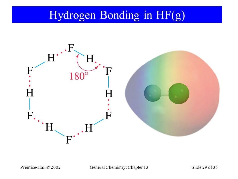 Hydrogen Bonding in HF(g)