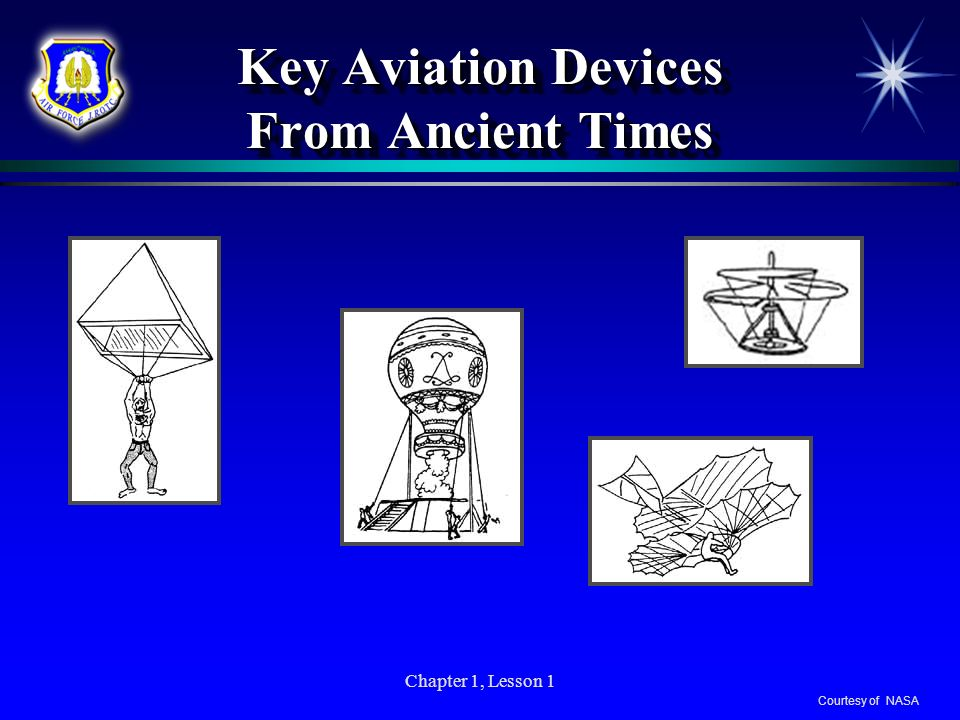 Key Aviation Devices From Ancient Times