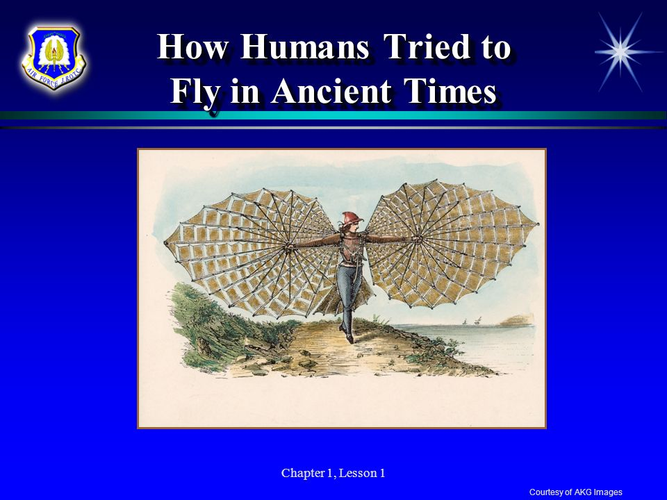 How Humans Tried to Fly in Ancient Times