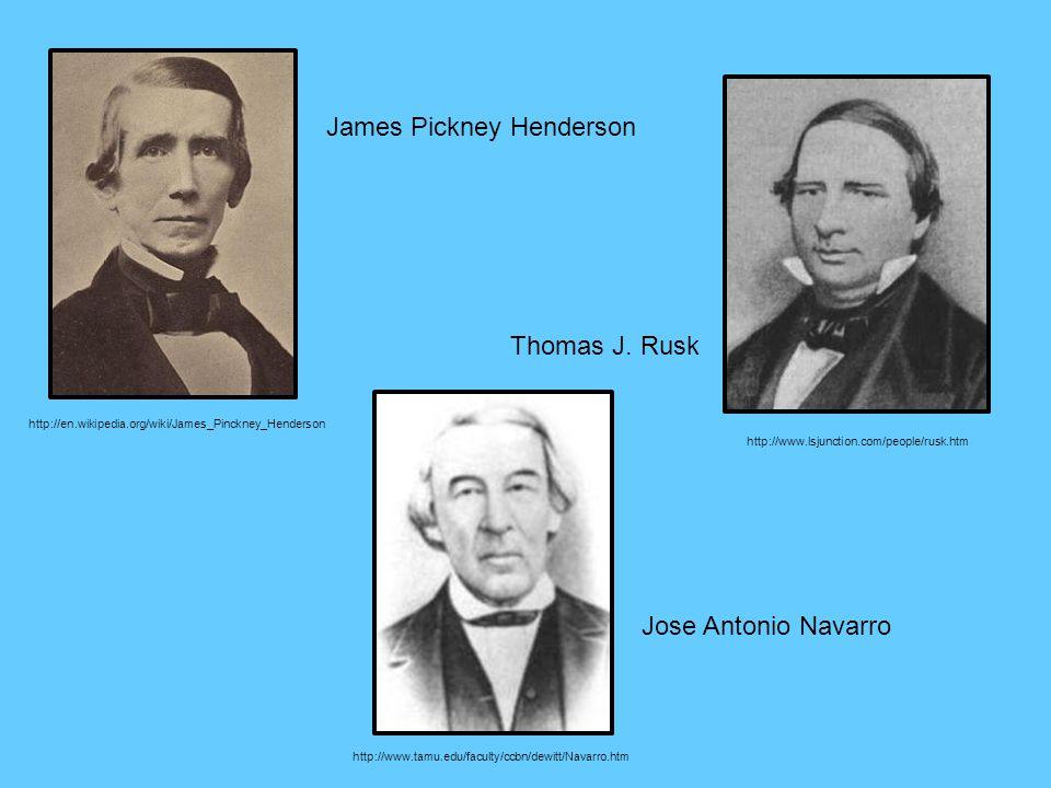 James Pickney Henderson