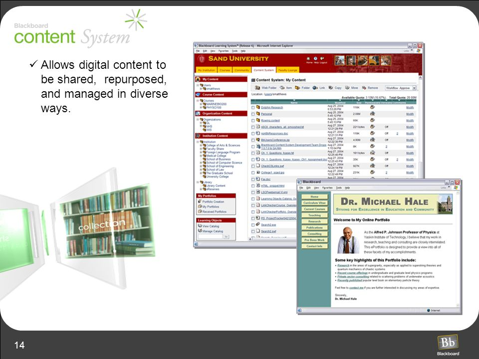 Allows digital content to be shared, repurposed, and managed in diverse ways.
