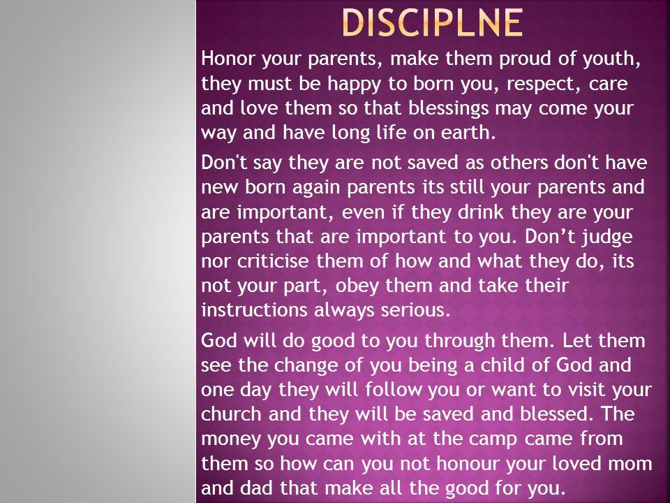 Disciplne