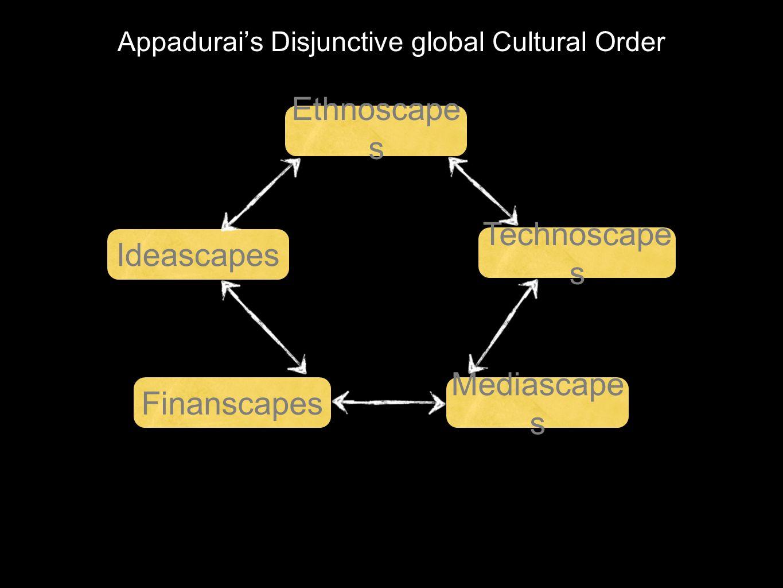 Appadurai's Disjunctive global Cultural Order