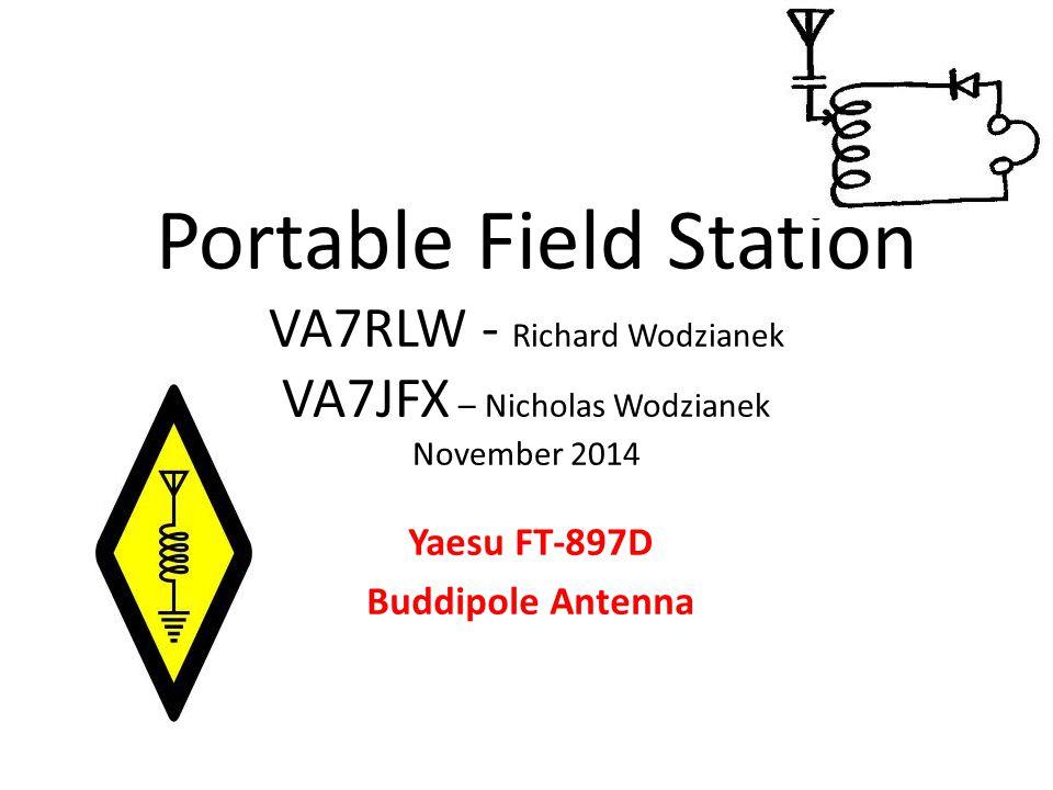 Yaesu FT-897D Buddipole Antenna