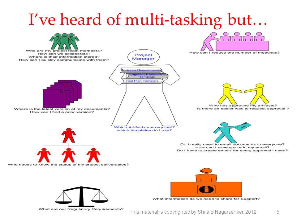 I've heard of multi-tasking but…