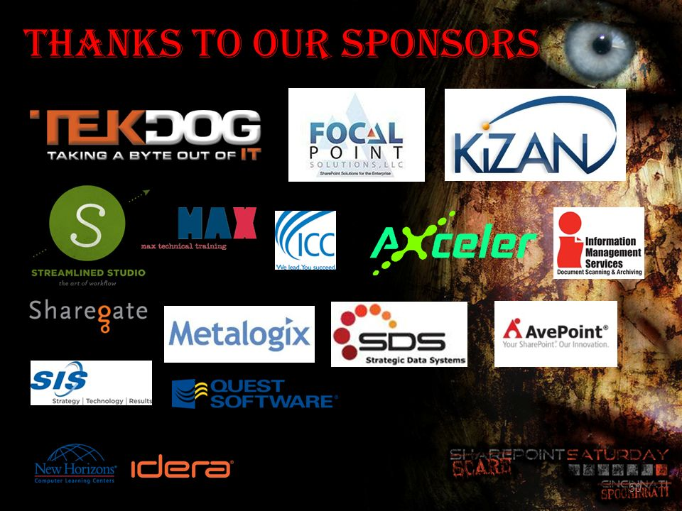 Thanks To Our Sponsors This material is copyrighted by Shila B Nagarsenker, 2012