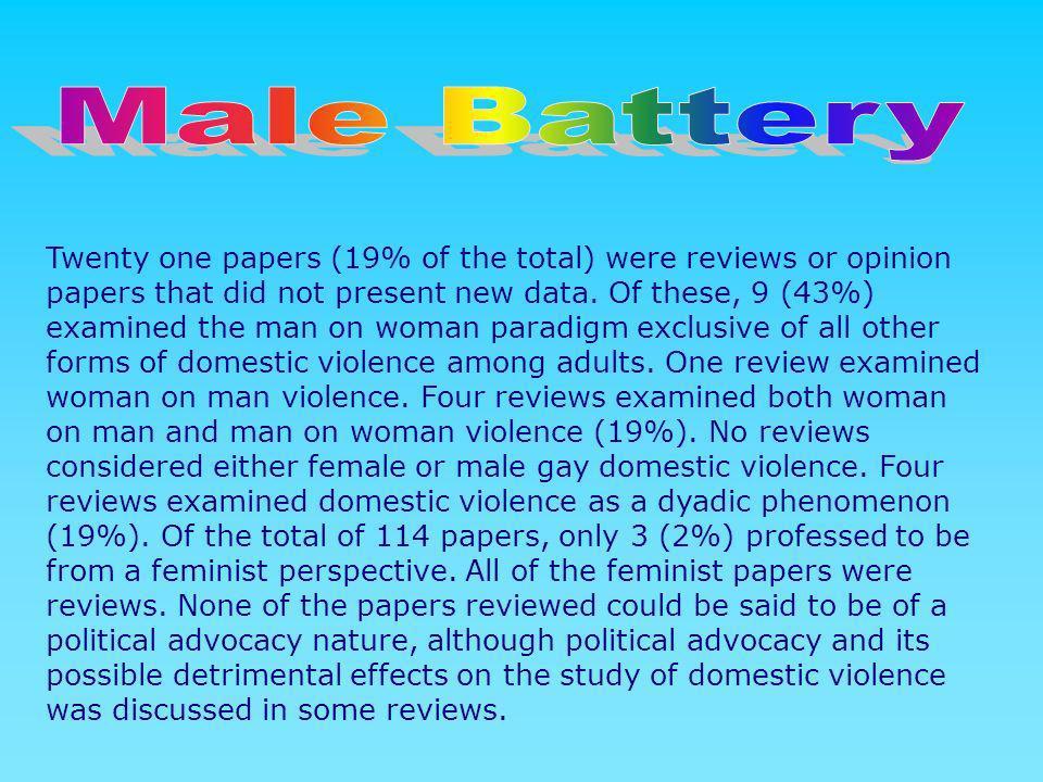 Male Battery