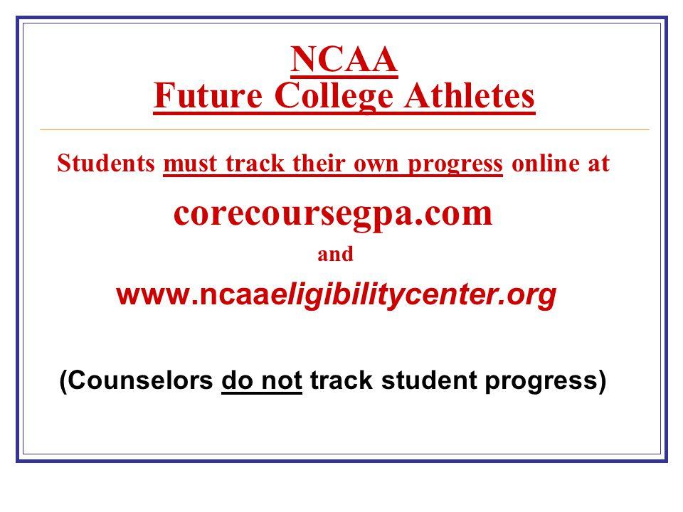NCAA Future College Athletes