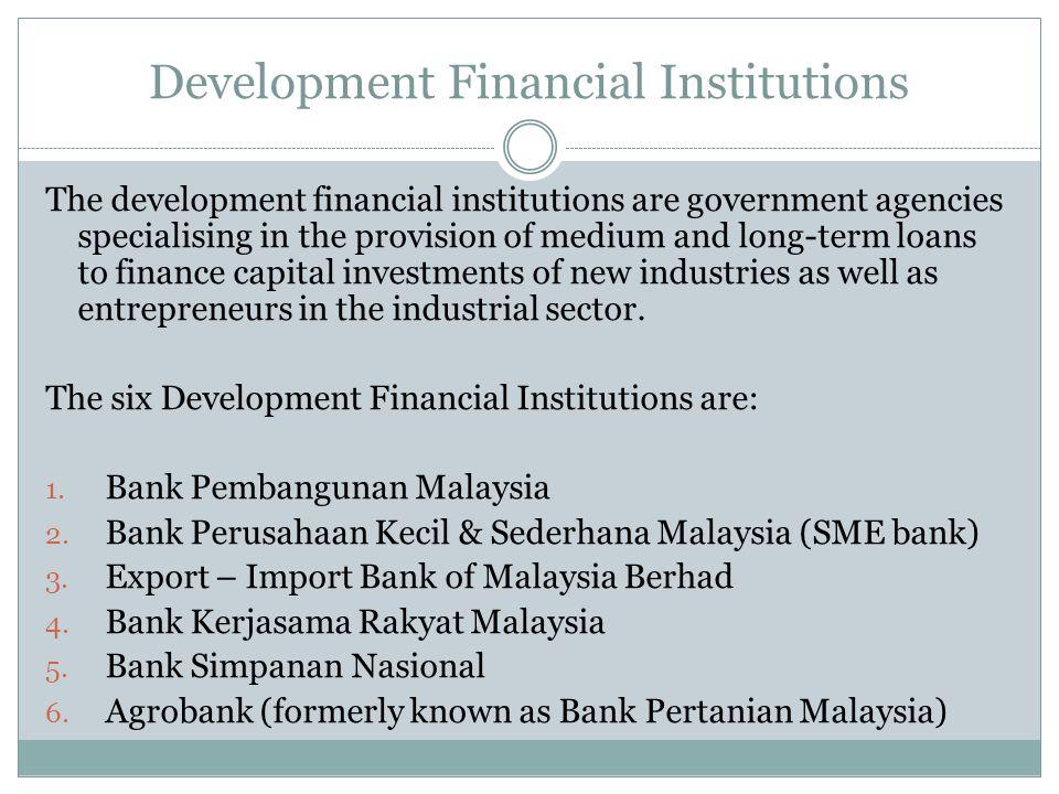 Development Financial Institutions