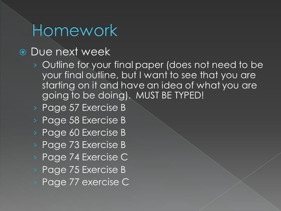 eng 101 essay assignment Assess your own writing progress and recognize areas for improvement select and prepare appropriate writing assignments to be included in the final portfolio expository writing: write a minimum of 4 essays of three pages or more ( approximately 1,000 words), including an in class (timed) essay independent of external.