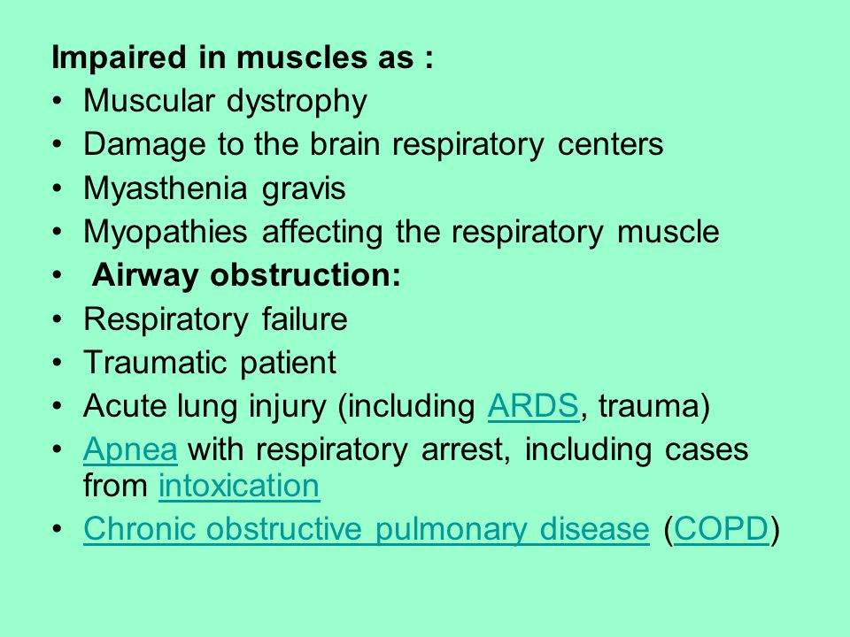 Impaired in muscles as :