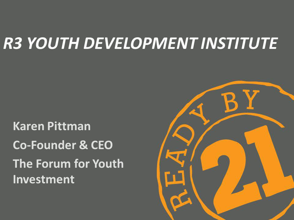 R3 Youth Development Institute